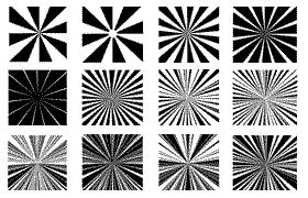 29种放射线PS形状