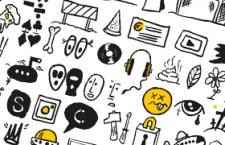 100+涂鸦风格图标,AI源文件