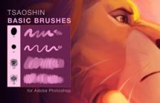 迪士尼美式画风Photoshop笔刷