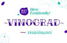 TM Vinograd 手写英文字体,免费可商用