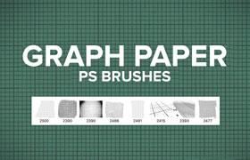 8种网格Photoshop笔刷