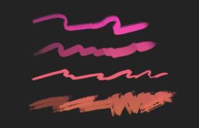 8个基础Photoshop水彩画笔