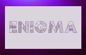 Enigma 无衬线英文字体