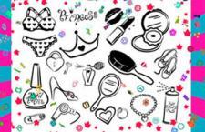 10个公主饰品PS形状,csh格式