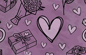 11个情人礼物PS形状,csh格式