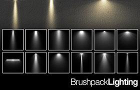 12个聚光灯Photoshop笔刷
