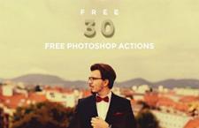 30种ins滤镜效果Photoshop动作