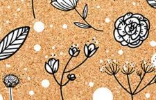 11个花卉线稿PS形状,csh格式