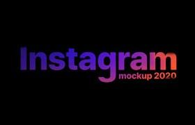 Instagram 2020 官方GUI模版,PSD Sketch Figma源文件