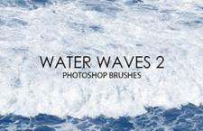 15个高清海浪Photoshop笔刷