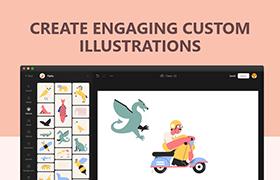 Vector Creator:在线矢量插图免费设计工具