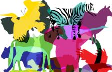 26种野生动物剪影ps形状,csh格式