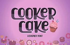 Cooker Cake 英文字体