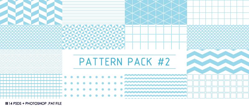 14种规则纹理PS图案,pat psd格式