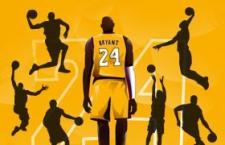 36个经典篮球动作剪影PS形状,CSH格式