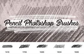 Photoshop铅笔涂鸦效果笔刷