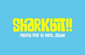 Sharkbit 可爱英文字体