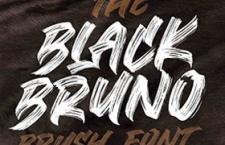 Black Bruno 街头涂鸦英文字体